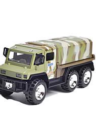 Недорогие -Военный транспортный грузовик Игрушечные грузовики и строительная техника Игрушечные машинки Машинки с инерционным механизмом 1: 100
