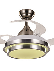 cheap -Ecolight™ Modern / Contemporary Ceiling Fan Ambient Light - LED Designers, 220-240V, Warm White White, LED Light Source Included