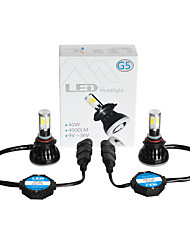 G5 9006 LED HEADLIGHT for CAR with 4SIDE COB CHIPS 40W POWER
