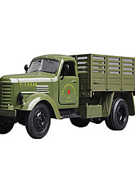 cheap -Military Vehicle Military Transport Truck Toy Truck Construction Vehicle Toy Car Model Car 1:64 Music & Light Metalic Plastic 5pcs Unisex