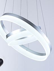 Недорогие -Подвесные лампы Рассеянное освещение Окрашенные отделки Металл Акрил Диммируемая, LED, Диммируемый с дистанционным управлением 110-120Вольт / 220-240Вольт Диммируемый с дистанционным управлением