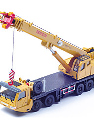 cheap -Toy Cars Die-Cast Vehicles Toys Construction Vehicle Crane Helicopter Toys Toys Metal Alloy Plastic Metal Pieces Children's Boys' Gift