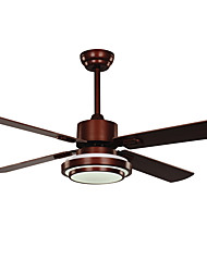Ceiling Fan ,  Vintage Country Nickel Feature for LED Designers Metal Living Room Dining Room Study Room/Office