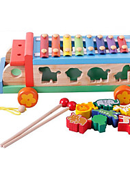 cheap -Xylophone Toy Car Building Blocks Educational Toy Bus Fun Toy Musical Instrument Toy Gift