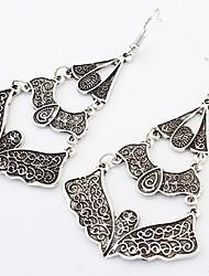 Women's Drop Earrings Hoop Earrings Jewelry Basic Circular Unique Design Logo Style Dangling Style Pendant Friendship Turkish Vintage
