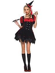 Wizard/Witch Cosplay Costumes Female Halloween Festival/Holiday Halloween Costumes Others