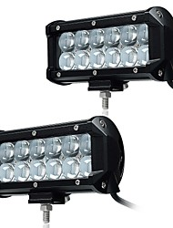 cheap -KAWELL 2Pcs 6.5 36W LED Work Light Bar Spot Beam 30 degree 4D Driving Light Waterproof 9-32V for Off-road Vehicle Pickup Car SUV Truck ATVs 4x4 4WD B
