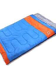 Недорогие -Спальный мешок Прямоугольный Двуспальный комплект (Ш 200 x Д 200 см) -10~5 T/C хлопокX150 Походы На открытом воздухе Сохраняет тепло