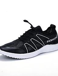 preiswerte -Männer athletische Schuhe Frühling Sommer Komfort Pu Tüll im Freien athletischen Casual Lace-up läuft