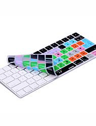 Недорогие -Xskn® logic pro x 10.3 shortcut силиконовая клавиатура для волшебной клавиатуры версия 2015 (раскладка us / eu)