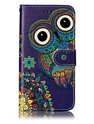 For Huawei P10 Lite P8 Lite (2017) PU Leather Material Owl Pattern Relief Phone Case P10 Plus P10 P9 Lite P8 Lite