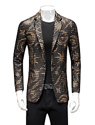 Men's Going out / Casual/Daily / Formal Vintage / Casual / Street chic Fall / Winter Blazer