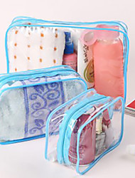 Travel Toiletry Bag Travel Luggage Organizer / Packing Organizer Cosmetic & Makeup Bag Waterproof Dust Proof Foldable Travel Storage