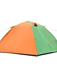 2 Pessoas Tenda Único Barraca de acampamento Um Quarto Barracas de Acampar Leves para Campismo Viajar CM