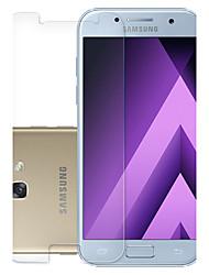 pour Samsung Galaxy a7 (2017) trempé protection d'écran avant verre 9h dureté 1 pc