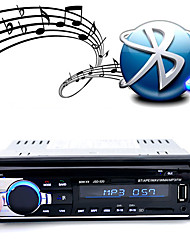 jsd-520 carro dvd player audio estéreo auto rádio bluetooth fm aux entrada receptor usb disco sd card
