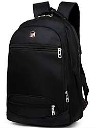 cheap -Men Bags Canvas School Bag Zipper for Casual Summer All Seasons Black