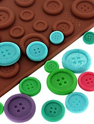 cheap -Mold For Candy For Ice For Chocolate Silicone Eco-friendly DIY 3D Nonstick