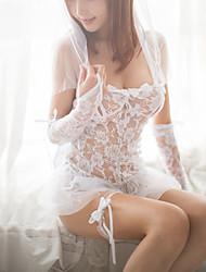 Ultra Sexy Vêtement de nuit Femme,Sexy DentelleMince Spandex