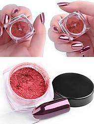 baratos -1pç / 1box Pó Acrílico Purpurina arte de unha Manicure e pedicure Clássico Diário