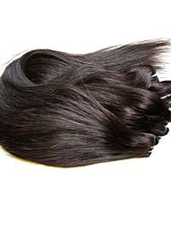 preiswerte -Echthaar Kunsthaar Verlängerung Glatt Brasilianisches Haar 400 g 6 Monate