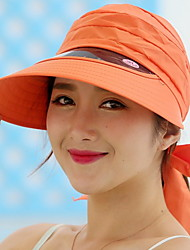 cheap -Women's Casual Polyester Sun Hat - Solid