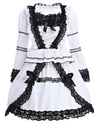 cheap -Classic Lolita Dress Lolita Women's Dress Cosplay Long Sleeve Short Length