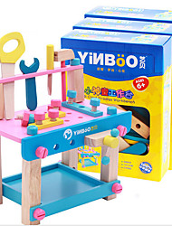 cheap -Building Blocks Construction Tools For Gift  Building Blocks Wood 2 to 4 Years 5 to 7 Years Toys