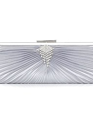economico -Per donna Sacchetti Seta Borsa da sera Con diamantini Brillantini Con balze per Matrimonio Serata/evento Casual Sport Formale Ufficio e