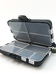 Недорогие -Коробки для рыболовных снастей Коробка для рыболовной снасти Водонепроницаемый Пластик 11*7 см*3.5