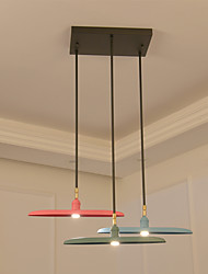 Pendant Light   Modern/Contemporary Painting Feature for LED Mini Style Designers MetalLiving Room Bedroom Dining Room Kitchen Study  A chandelier B