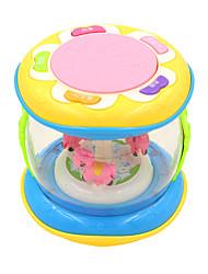 Недорогие -Аксессуары для кукольного домика Барабанная установка Электрический Пластик Детские Игрушки Подарок