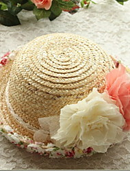 2017 Fashion Design Wide Brim Straw Hat Women Flower Beach Sea Sun Hat Summer Hats