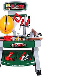 abordables -Outils de Construction Jeu de Rôle Boîtes à Outils Jouets Bricolage Jouets Sécurité Plastique Enfant Garçon Pièces