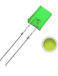 100 pcs 2x5x7 mm Yellow-Green LED Diode Lights