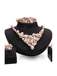 cheap -Women's Jewelry Set Rhinestone Imitation Pearl Imitation Pearl Rose Gold Plated Alloy Others Personalized Vintage Statement Jewelry