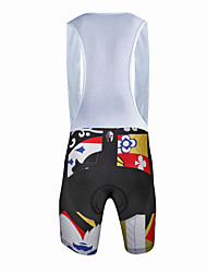 cheap -Cycling Bib Shorts Men's Male Bike Bib ShortsQuick Dry Windproof Anatomic Design Ultraviolet Resistant Moisture Permeability759