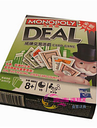 cheap -Board Game Monopoly Game Toys Square Plastic Pieces Unisex Gift