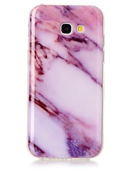 cheap -For Samsung Galaxy A3 A5 (2017) Case Cover Marble High Definition Pattern TPU Material IMD Technology Soft Package Mobile Phone Case