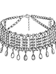 billige -Dame Kvast Kort halskæde - Dråbe Luksus, Tassel, Mode Guld, Sølv Halskæder Smykker Til Bryllup, Fest