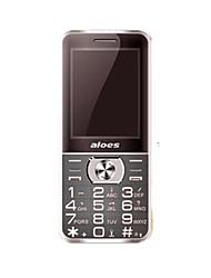 Aloes x5 teléfono celular dual sim tarjeta bluetooth gsm teléfono