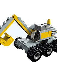 cheap -Building Blocks Toy Cars Construction Vehicle Excavator Toys Square Excavating Machinery Unisex Pieces