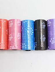 Gatto Cane Pulizia Set da bagno Ompermeabile Portatile A doppia faccia Ripiegabile Silenzioso Colore casuale