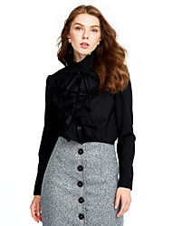 preiswerte -Damen Alltag Mini Röcke Bodycon,Polyester Solide Herbst