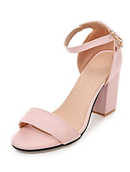 Women's Sandals Formal Shoes Leatherette Spring/Fall Summer Birthday Party/Evening Graduation Thank You Business Daily Formal ShoesChunky