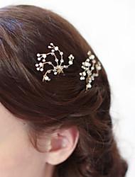 economico -hair pin head stick headpiece wedding party elegante stile femminile