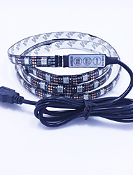 12w rgb usb dc 5v 1m 60 leds strip lights luce led di alta qualità