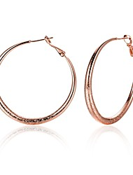 Women's Hoop Earrings Jewelry Basic Circular Unique Design Tattoo Style Dangling Style Natural Geometric Circle Friendship Statement