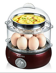 Kitchen Double-deck Egg Cooker Food Steamers Breakfast Machine