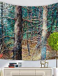 Недорогие -Пейзаж Декор стены Полиэфир/полиамид Современный Предметы искусства, Стена Гобелены Украшение